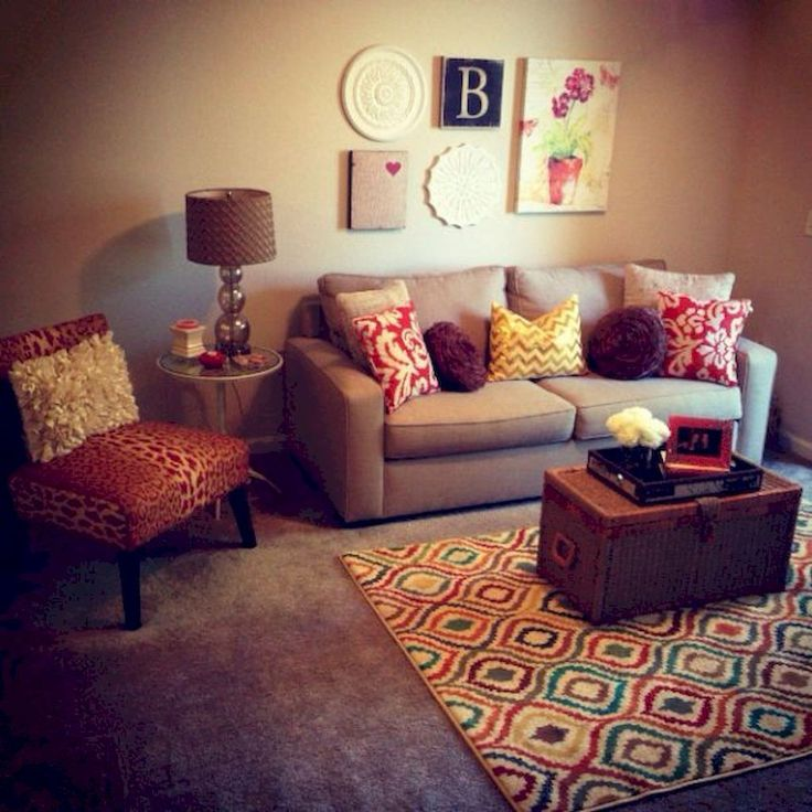 Adorable 75 First Apartment Decorating Ideas on A Budget #apartment #decorating #firstapartment #ideas
