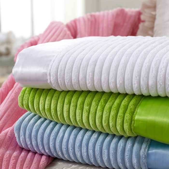 Keep warm with this ultra soft blanket.