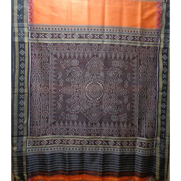 Handloom Silk saree of art state Odisha