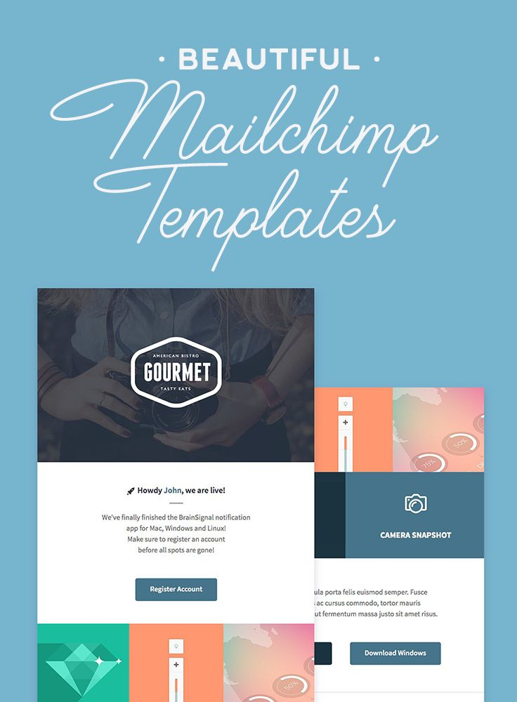 mailchimp create template from caign.html