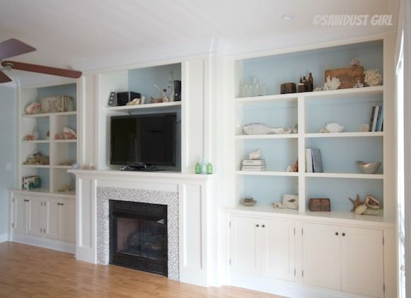 Fireplace Wall Built Ins Courtney Reveal