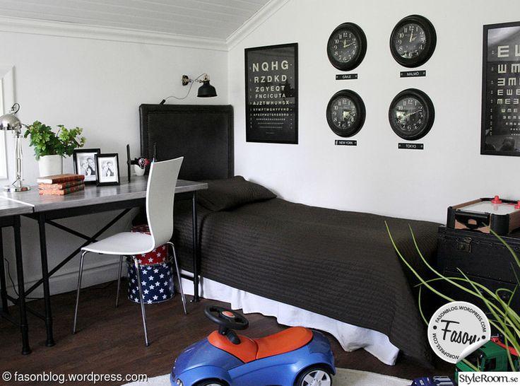 skrivbord,pojkrum,sovrum,rustikt,gör det själv