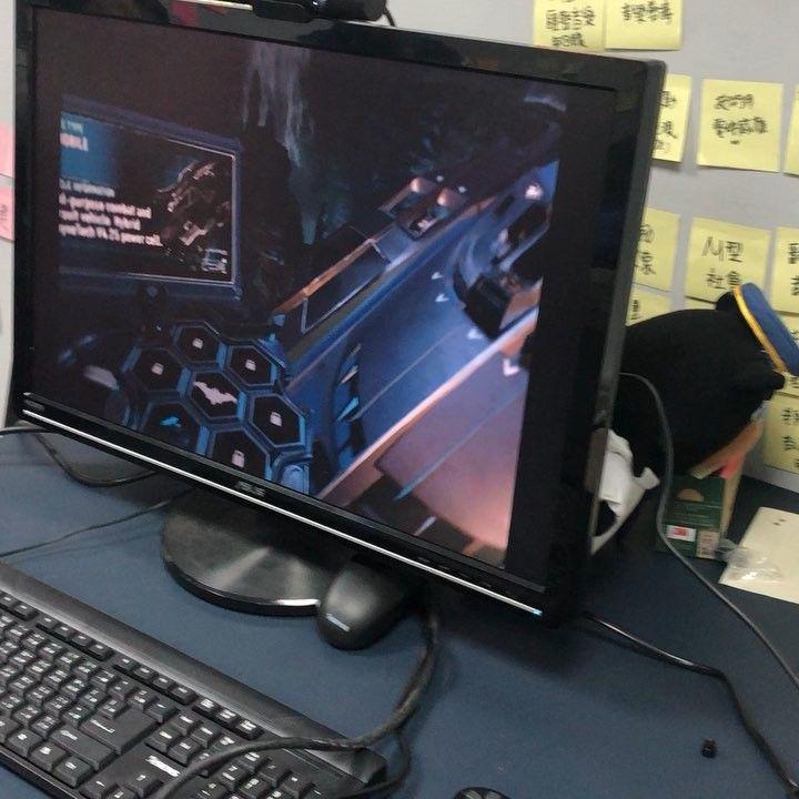 PS4 VR! 蝙蝠車 #batman #ps4 #vr #experience #cool #amazing #fun