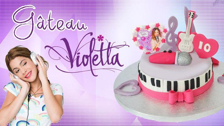 96 best g teau anniversaire enfant images on pinterest - Apprendre a dessiner violetta ...