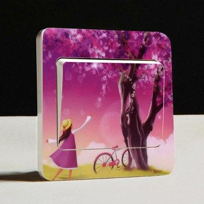 Various Light Switch Cover Stickers #9674   Free Worldwide Shipping!  Only $3.00    Order from: www.happycozyhome.com