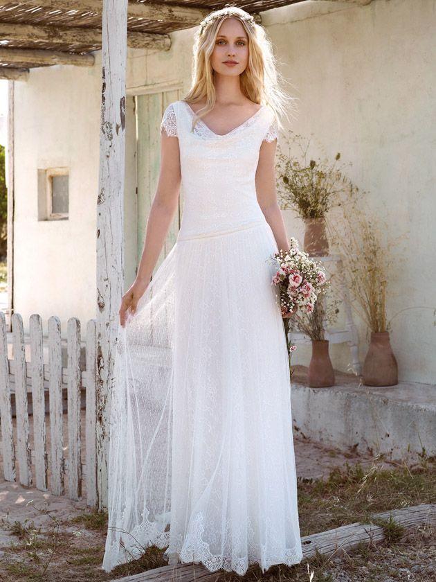 880 best Brautkleider images on Pinterest | Short wedding gowns ...