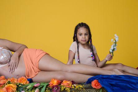 Beyoncé's Epic Pregnancy Shoot - Beyoncé Shows Off Growing Baby Bump In This Epic Pregnancy Photoshoot