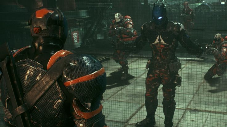 Batman Arkham Knight: Deathstroke Meets Arkham Knight