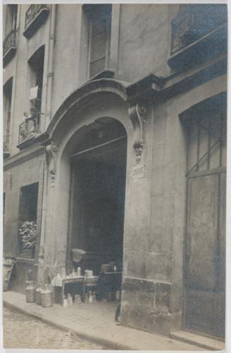 Collège Saint-Michel, rue du Maître-Albert , n° 7. 5ème arrondissement, Paris. | Paris Musées