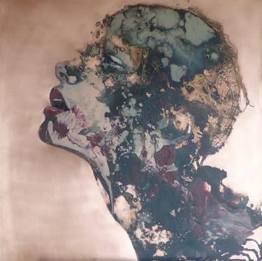 "Saatchi Art Artist Iris Schreven; Painting, ""Longing for lullabies"" #art"