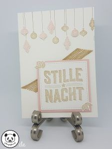 Stempelpanda | Stampin´ Up, SU, Wie ein Weihnachtslied, Carols of Christmas