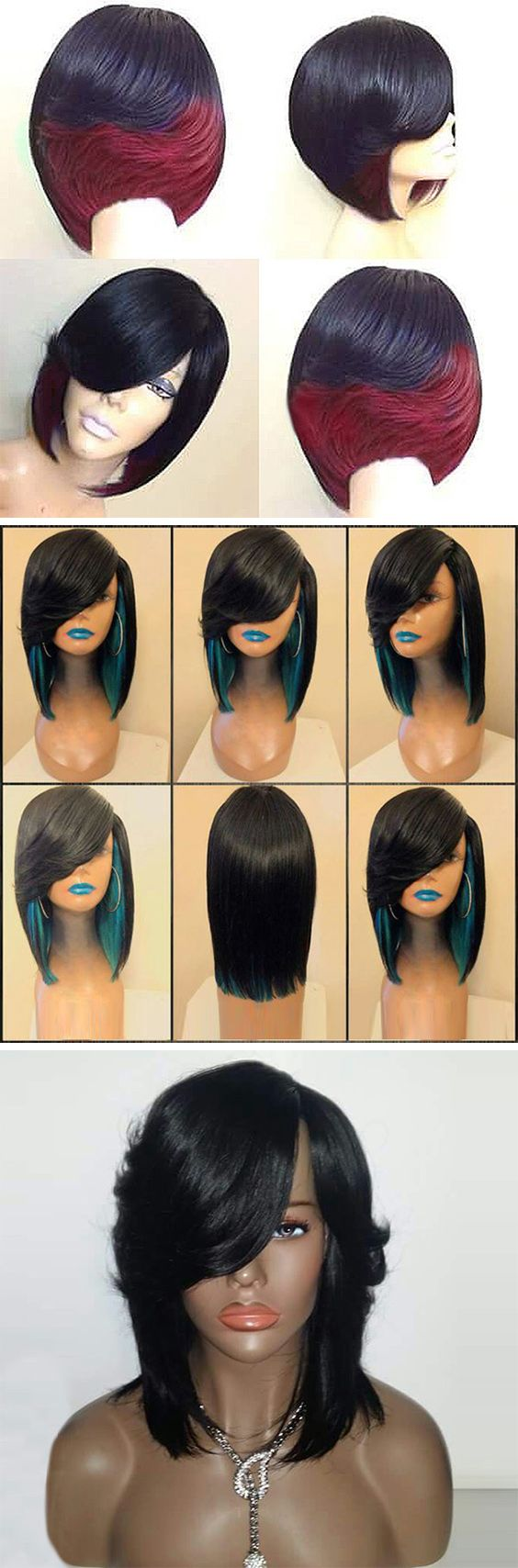 50% OFF Wave Long Synthetic Wig,Free Shipping Worldwide.#hair#SyntheticWigs