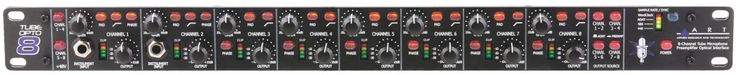 Art Tube Opto 8 http://ehomerecordingstudio.com/best-mic-preamp/
