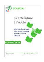 C 1 : Maîtrise de la langue française - Littérature - Éduscol liste de référence 2013