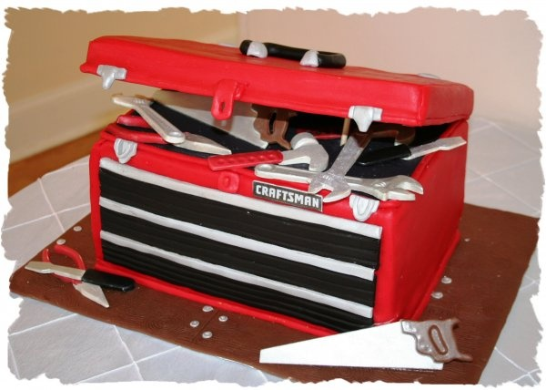 tool box birthday cake photos 3