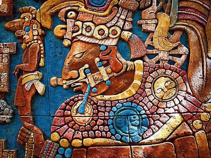 Mayan Warrior Photograph Aztec Incan Mayan Art In 2019