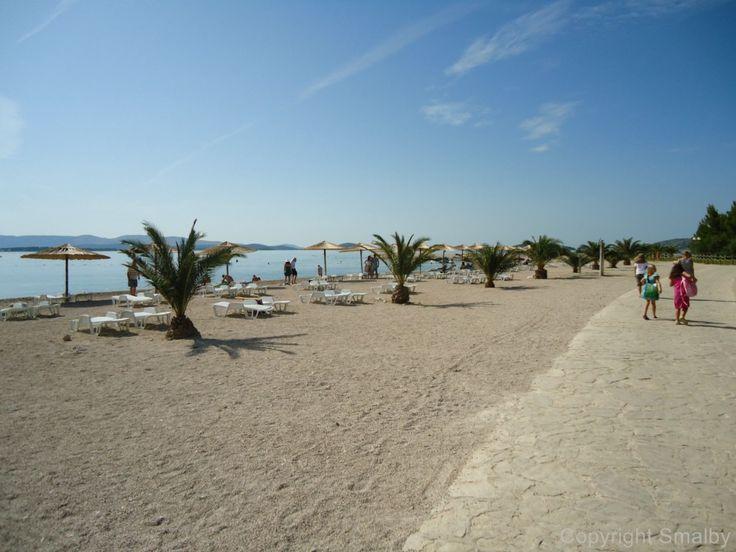 Strand Sibenik - in die Ferienanlage Solaris