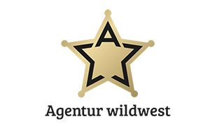 Take a look at this awesome logo 'Agentur Wildwest' by Tobias Kentner