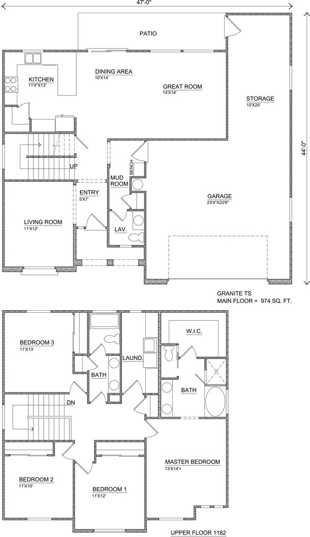 43 best Home Designs & Floor Plans images on Pinterest | House ...