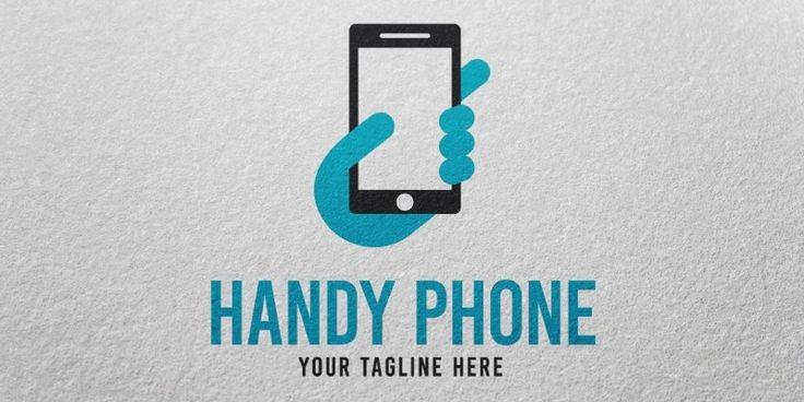 Handy Phone Logo Template for Sale: 29$ + TVA