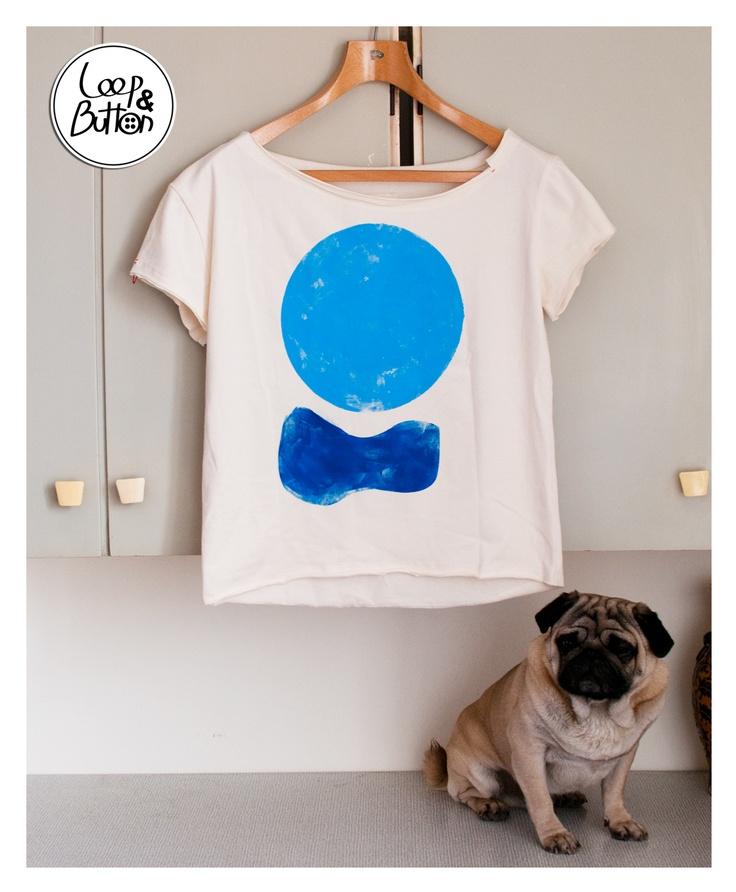 BigCircle handmade t-shirt   size: S, M, L