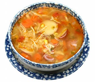 Pressure Cooker Recipes are Fast  Spiced Italian Chicken Soup