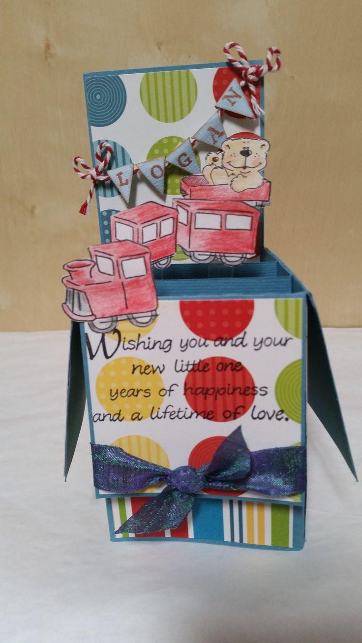 Logan's box by Susan of Art Attic Studio
