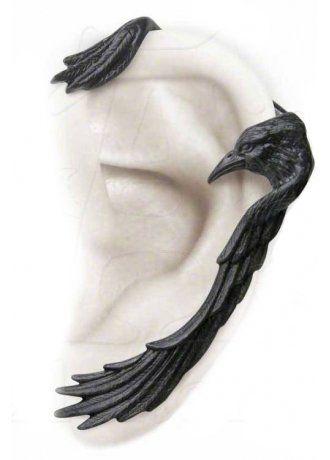 Alchemy Gothic Raven Ear-Wing Ear Wrap, £13.99                                                                                                                                                                                 More