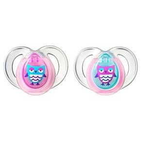 Pacifiers Tommee Tippee 6-18 Month Night Time 2pk : Target