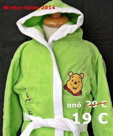 Μπουρνούζι Παιδικό Κέντημα Winnie -30% !!!! http://www.homeclassic.gr/e-shop/#!/~/product/category=4470442&id=19038762