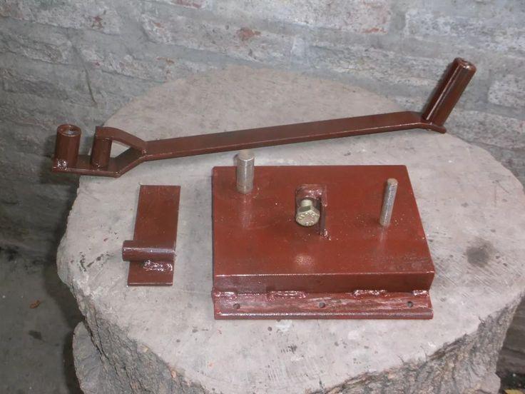dobladora de hierro de construccion reforzada