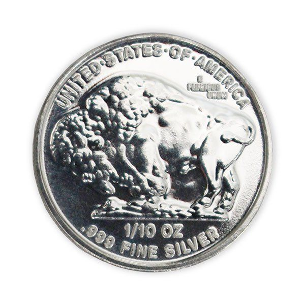 Buy 1 10 Oz Silver Buffalo Indian Head Rounds Money Metals In 2020 Silver Silver Bullion Silver Coins