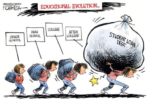 'Ripping Off Young America: The College-Loan Scandal' .. (interesting article here)