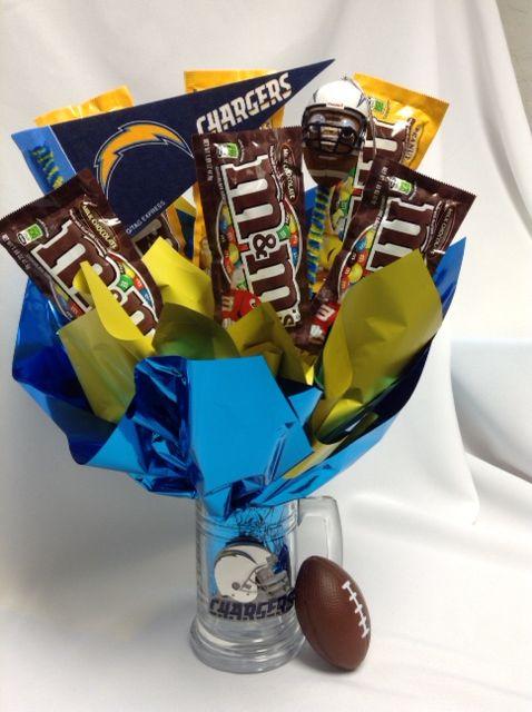 NFL CHARGER SNACK MUG   Gift baskets from DAVINE KREATIONS   Pinterest