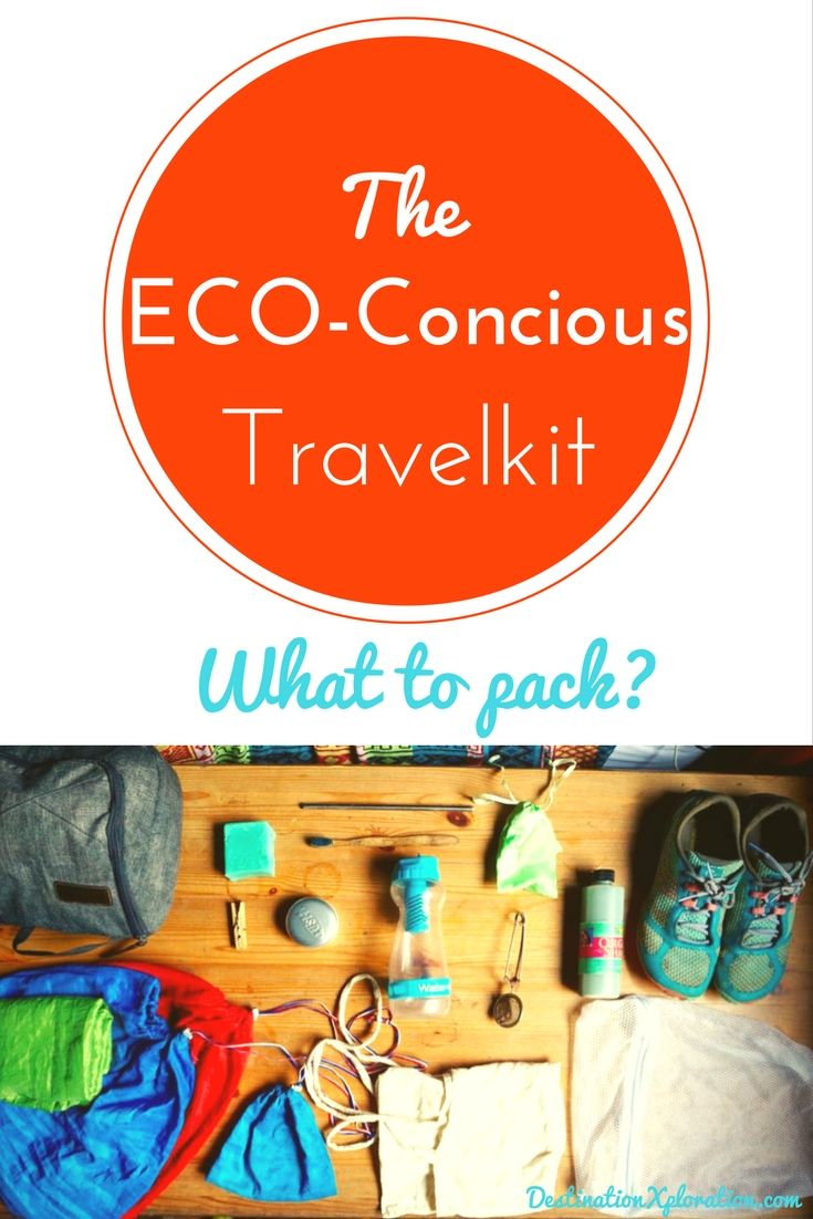 Travel packing for the planet: What's in my eco travel kit? You want to travel light, compact and purposeful. But that's not enough! You want to support innovative social entrepreneurs, and have a positive influence on fellow travellers and locals to help create awareness on solutions out there to make this world a better place. Here are some tips! #ecotravel #travelkit #green #packing #travelpacking #light #ecoconcious #zerowaste
