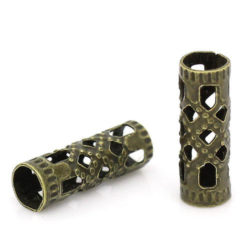 BMGM Antique Bronze Spacer Beads. Starting at $5 on Tophatter.com!