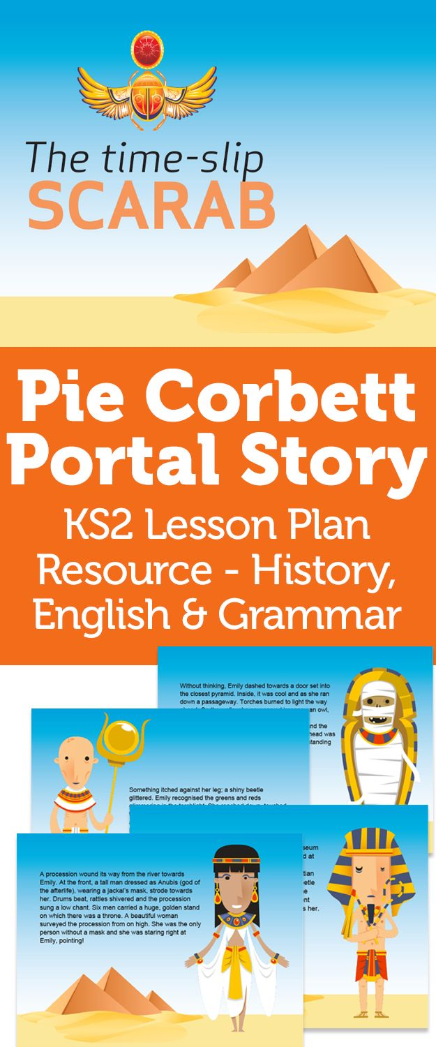 Pie Corbett Portal Story: KS2 Lesson Plan Resource - History, English & Grammar