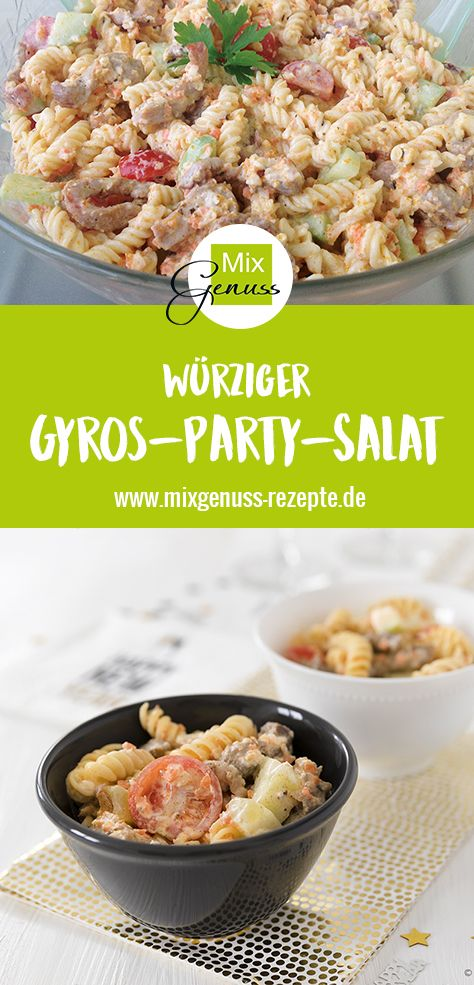 Gyros-Party-Salat – MixGenuss Blog