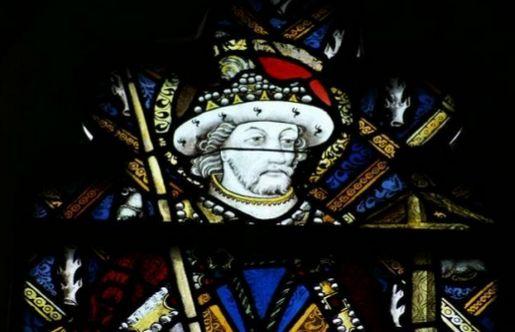 Título: San Alban Autor: John  Prudde Lugar: Capilla Beauchamp Siglo: XV
