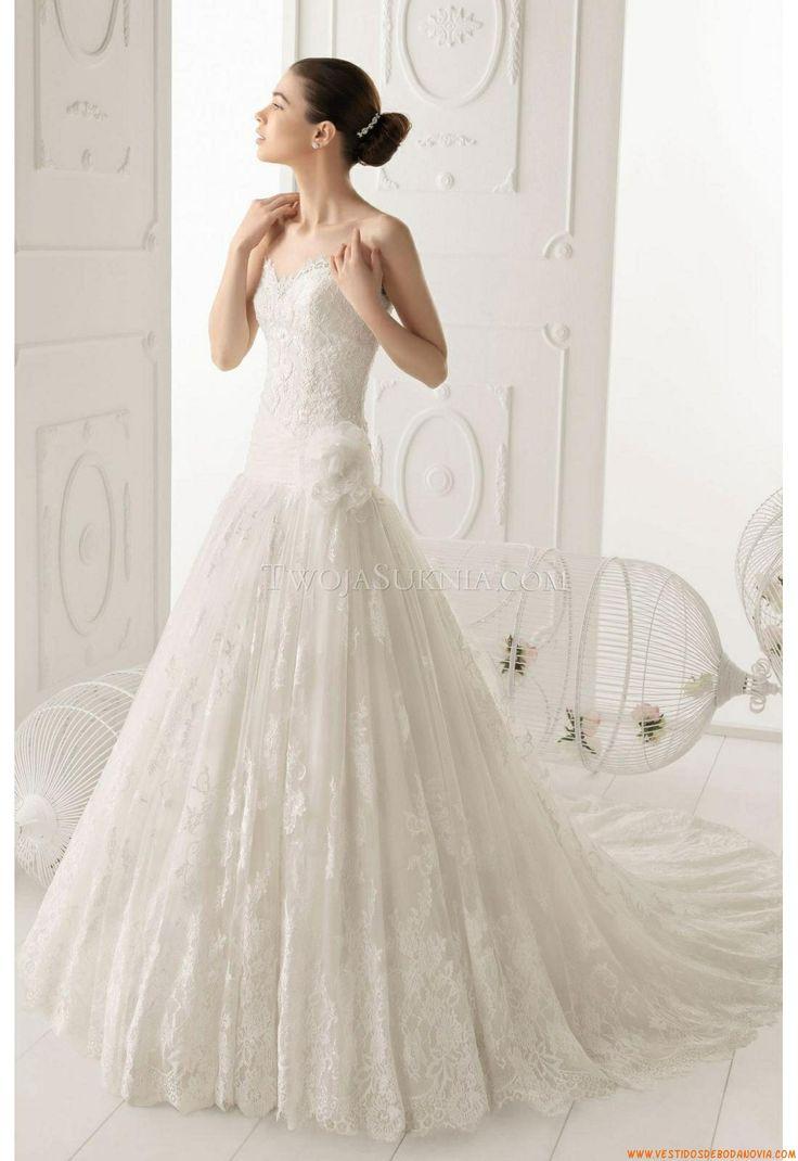 Vestido de novia Aire Barcelona 144 Ombra 2014