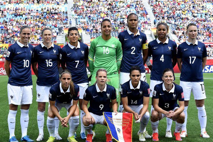 Equipe de France - Féminine - Football - 2015