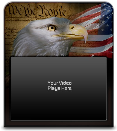 Custom 'We The People' Video Skin from VideoSkinAdvantage.com