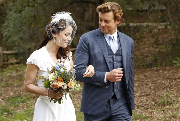 Teresa Lisbon and Patrick Jane (Robin Tunney and Simon Baker) #TheMentalist