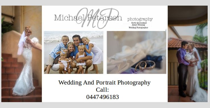 No field of photography is as tough as wedding photography. Why: there can be no retakes. That is why you should choose a Cairns photographer carefully. If you are really concerned about your wedding photography, think you cannot go wrong with Michael Petersen photography. He is a photography genius who would capture all the special moments of your wedding day beautifully. Get in touch with him for more information!