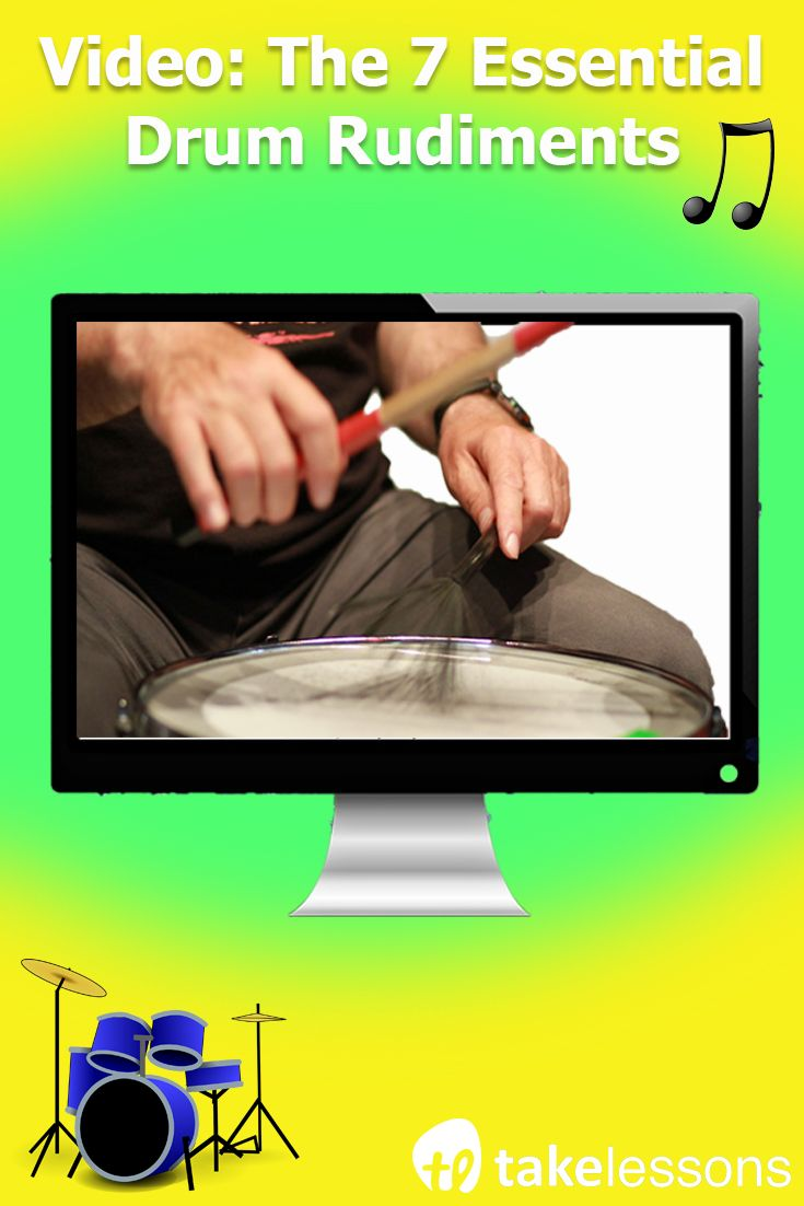 Learn the 7 essential drum rudiments with this easy-to-follow video
