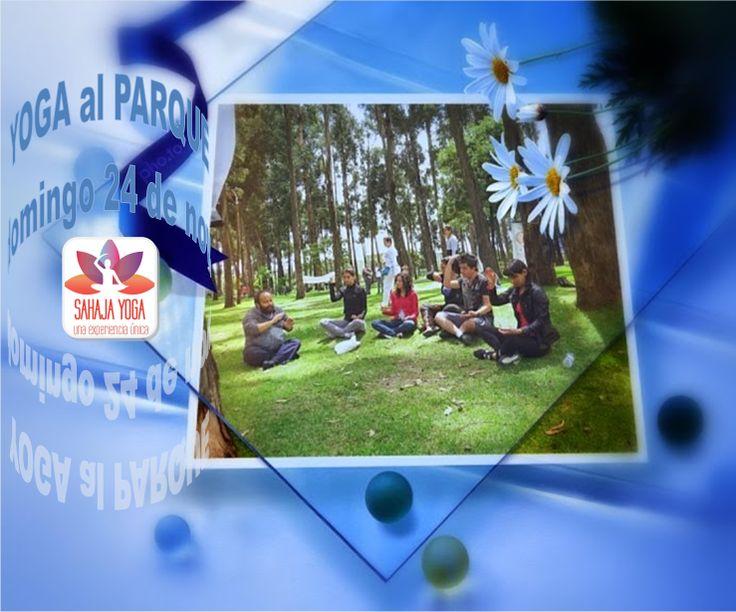#YOGAALPARQUE DOMINGO 24 DE3 NOVIEMBRE