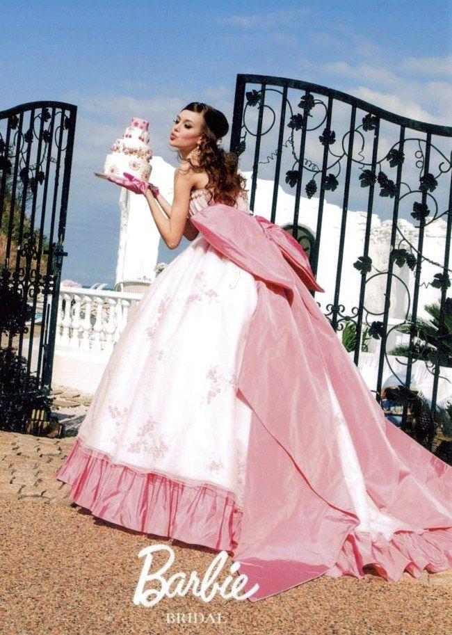 バービー カラードレスピンク 50021 | ウエディングドレスのレンタルなら愛ロイヤルウェディング