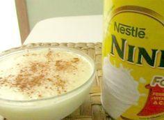 Aprenda aqui a fazer essa delicia. Ótima receita para fazer e sobremesa, rende 4 porções e é bem fácil de fazer. Arroz doce de Leite Ninho.