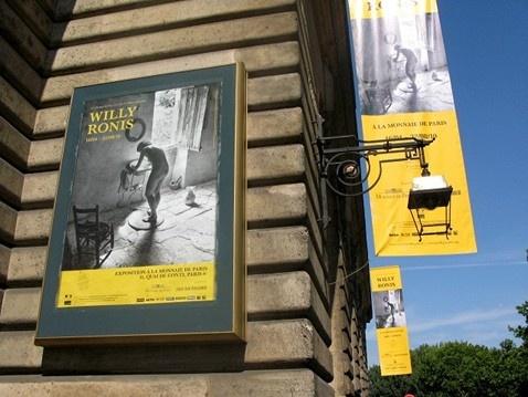 Willy Ronis, la Monnaie de Paris, 2010