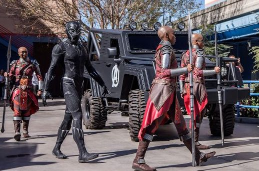 Black Panther is Now Making Appearances at Disney California Adventure Park